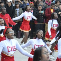 Central's Pep Squad performing at the Pep Rally. Photo Credit: Albert Tanjaya (275)