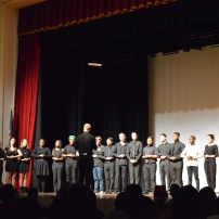 Central's choir performing during the Widener Show. Photo Credit: Austin Iv (275)