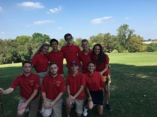 The coed golf team's strong bond has encouraged them to perform to their best. PC: Coach Snyder