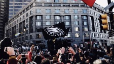 The School District of Philadelphia closed on Thursday, February 8 for the Eagles' parade along Broad Street and the Benjamin Franklin Parkway. PC: Jacqueline Reichner (277)